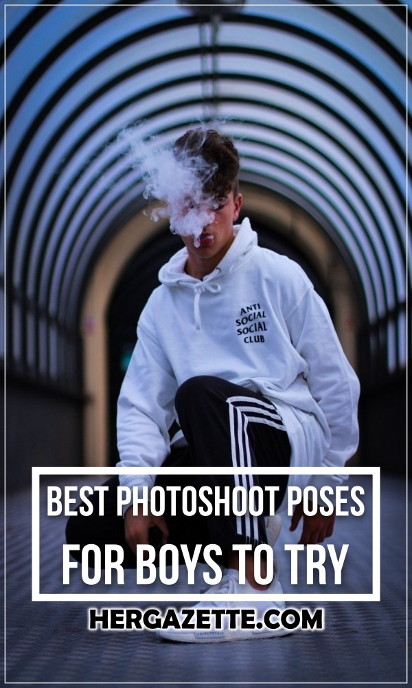 Best Photoshoot Poses For Boys To Try