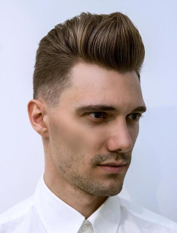 Dapper Pompadour Hairstyles For Men