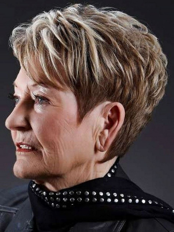 Beautiful Short Haircuts For Women Over 70