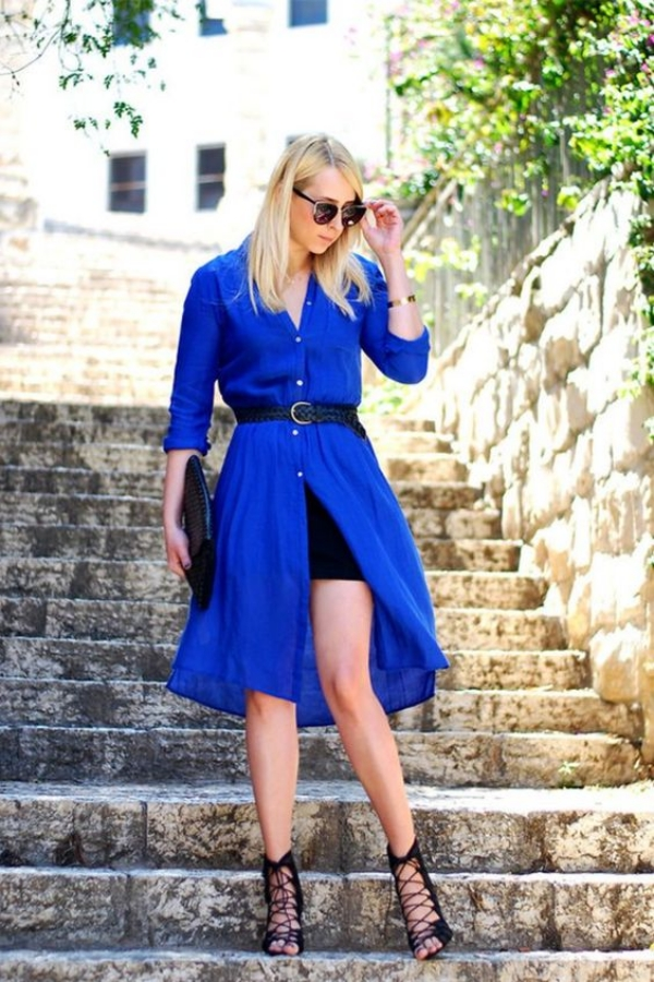 Best Royal Blue Dress Outfit Ideas